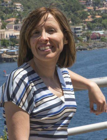 In questa foto la wedding planner di Catania Roxana Ziino