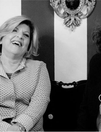 In questa foto Silvia Tosto e Alessandra Bentivoglio di Wedding Sicily