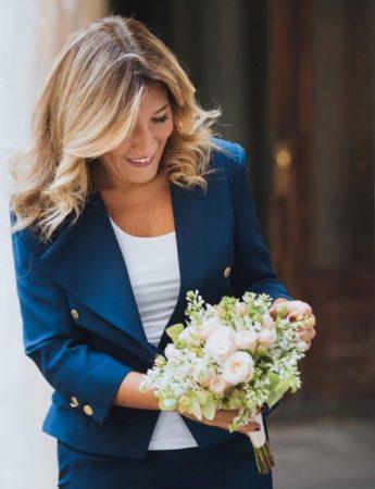 In questa foto la wedding e event planner Anna Frascisco