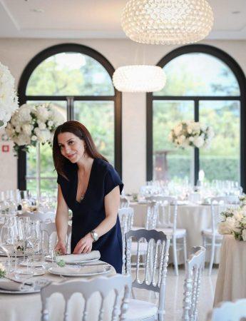 In questa foto la wedding planner di Milano Letizia Ventura