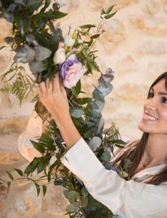 In questa foto la wedding planner Noemi Bellante