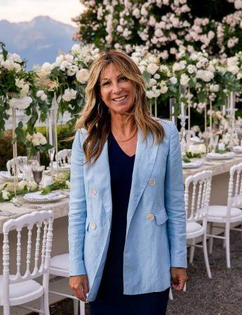 In questa foto la wedding planner Silvia Bettini
