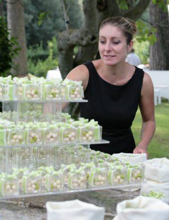 In questa foto la Wedding Planner Erika Alberetti