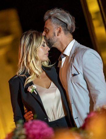 """In questa foto la """"coppia del wedding""""composta da Erika Morgera e Vincenzo Ruchetta"""