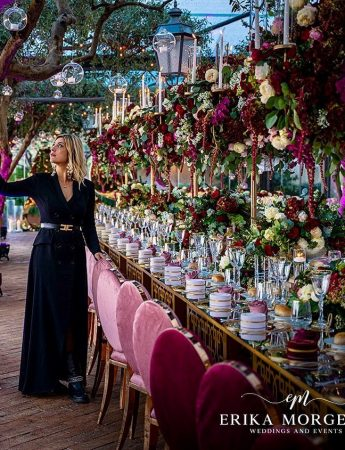 In questa foto la Wedding Planner Roma Erika Morgera