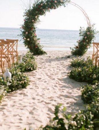 Un matrimonio sulla spiaggia