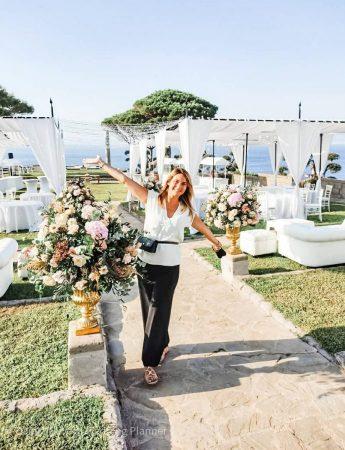La wedding planner Danila Olivetti