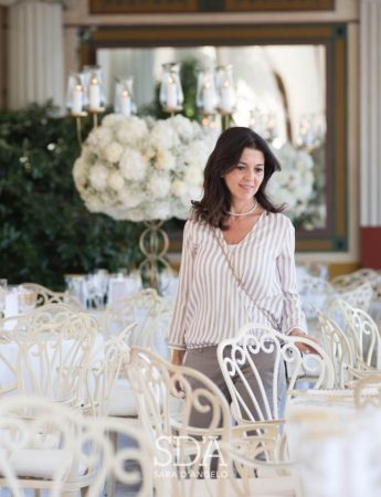 La wedding architect Sara D'Angelo