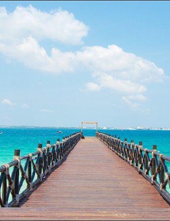 In questa foto vista da Zanzibar